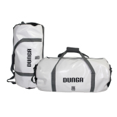 Dunga Duffle Bag XL White / Black