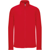 Full zip microfleece jacket