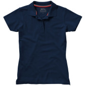 Advantage damespolo met korte mouwen - Navy - L