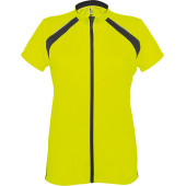 Ladies' short-sleeved cycling top