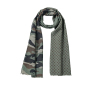 Camouflage Scarf olijf/bruin