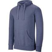Men's melange hooded sweatshirt