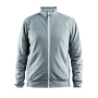 Leisure Jacket Men grey melange 4xl
