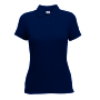 65/35  Lady-Fit Polo Deep Navy L