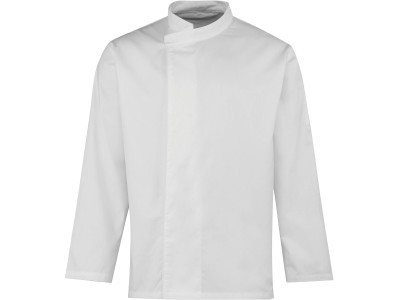 'culinary' pull-on chefs long sleeve tunic