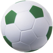 Football anti-stress bal - Wit,Groen