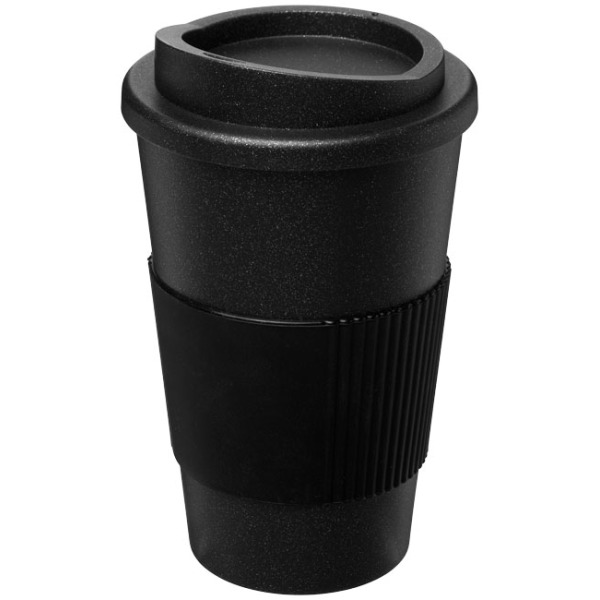 Americano® Midnight grip 350 ml geïsoleerde beker