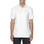 Gildan Polo Double Pique Softstyle for him white S
