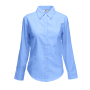 Lady-Fit longsleeve Oxford Shirt Oxford Blue XS