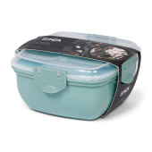 SENZA Lunch Box with Coolingpack Green