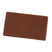 Chocolade tablet 10,5 gr. (melk) Barry Callebaut full colour op wikkel