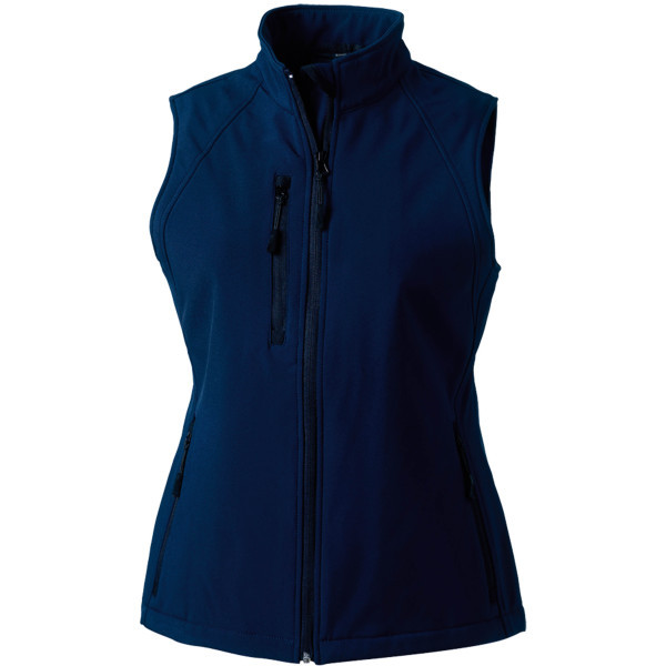 Ladies' softshell gilet
