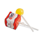 Lolly in vierkant doosje