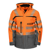 PROJOB 6417 JACKET HV ORANGE XS