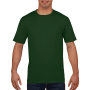 Gildan T-shirt Premium Cotton Crewneck SS for him forest green XL