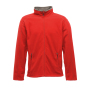 Adamsville Full Zip Fleece 3XL Classic Red/Smokey