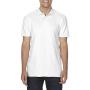 Gildan Polo Double Pique Softstyle for him white 3XL