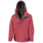 3-in-1 Jacket with Fleece Red XS