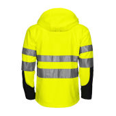 6419 Shell Jacket HV Yellow/Black 3XL