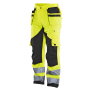 2215 Trouser HV Kl.2 Yellow/Black D104