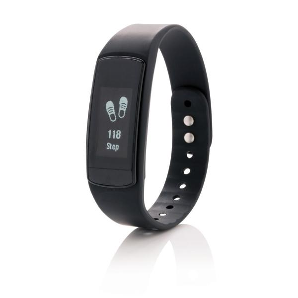 Activity tracker met touch screen