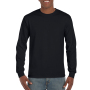 Gildan T-shirt Ultra Cotton LS black S
