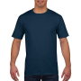 Gildan T-shirt Premium Cotton Crewneck SS for him navy M