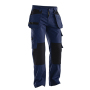 2312 Holsterpockets trousers navy/black D120