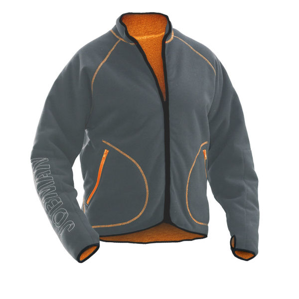 5192 Fleece Jacket Reversible