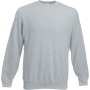 Classic set-in sweat (62-202-0) heather grey xl