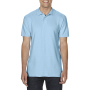 Gildan Polo Double Pique Softstyle for him light blue 3XL