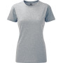 Ladies' hd t silver marl m