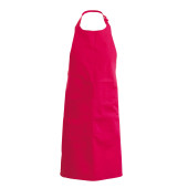Apron - halterschort red one size