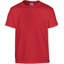 Heavy cotton™ classic fit youth t-shirt red 5/6 (s)