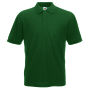 65/35 Pique Polo Bottle Green L