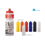 Sportbidon 750ml wit / rood