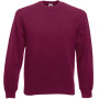 Classic raglan sweat (62-216-0) burgundy xxl