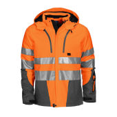 6420 Padded Jacket HV Orange XS