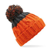 Apres Beanie - Orange/Graphite Grey