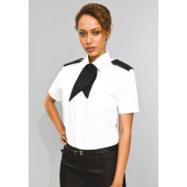 Ladies' short-sleeved pilot shirt