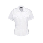 Ladies pilot short sleeved shirt