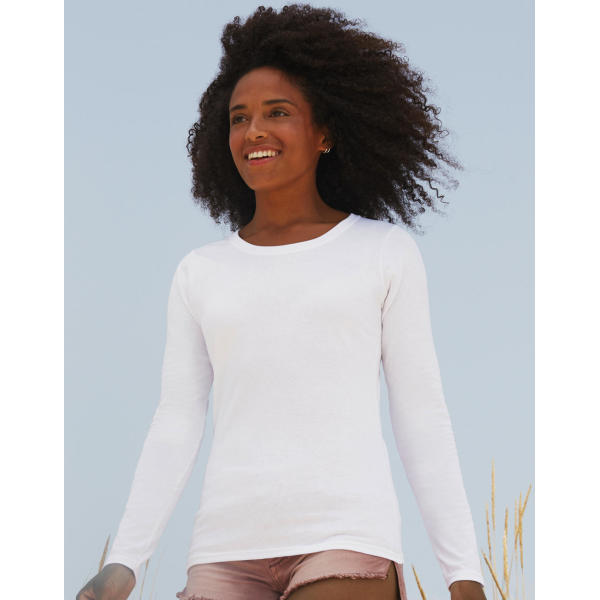Long Sleeve Crew Neck T Lady-Fit