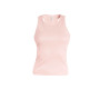 Angelina - dames racerback pale pink xs