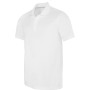 Herensportpolo white m