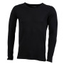 Men's Shirt Long-Sleeved zwart