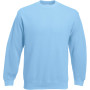 Classic set-in sweat (62-202-0) sky blue l