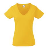Valueweight V-Neck T Lady-Fit