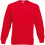Classic set-in sweat (62-202-0) red m