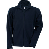 Falco - zip through micro fleece jacket