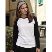 Ladies Baseball Tee Long Sleeve